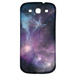 Blue Galaxy  Samsung Galaxy S3 S III Classic Hardshell Back Case Front