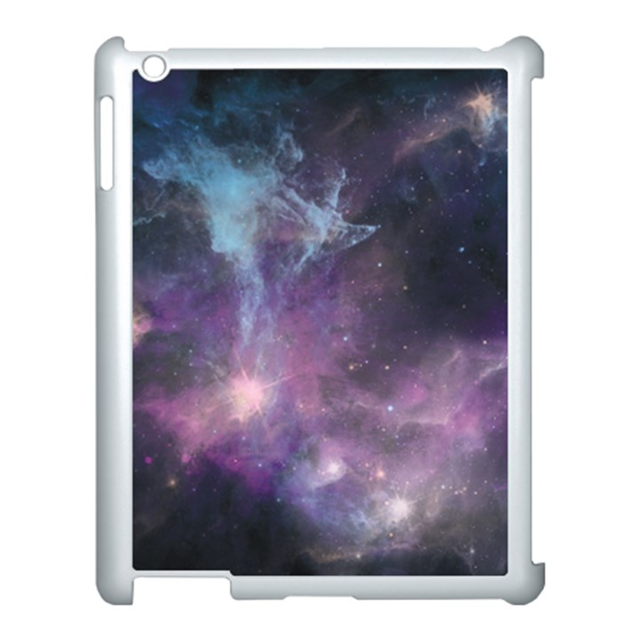 Blue Galaxy  Apple iPad 3/4 Case (White)