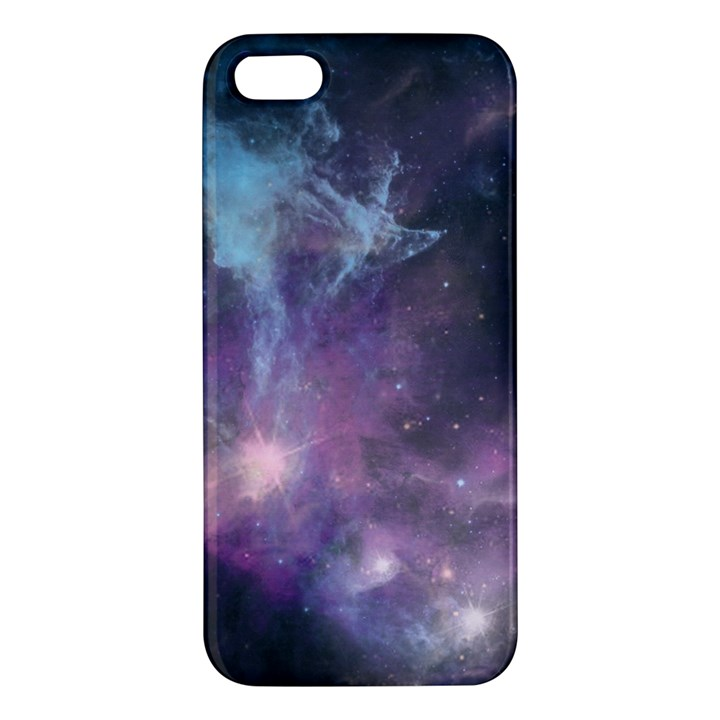 Blue Galaxy  Apple iPhone 5 Premium Hardshell Case