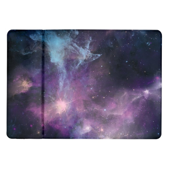 Blue Galaxy  Samsung Galaxy Tab 10.1  P7500 Flip Case