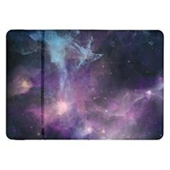 Blue Galaxy  Samsung Galaxy Tab 8.9  P7300 Flip Case