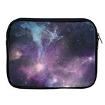 Blue Galaxy  Apple iPad 2/3/4 Zipper Cases Front