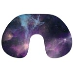Blue Galaxy  Travel Neck Pillows Back
