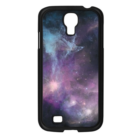Blue Galaxy  Samsung Galaxy S4 I9500/ I9505 Case (Black)