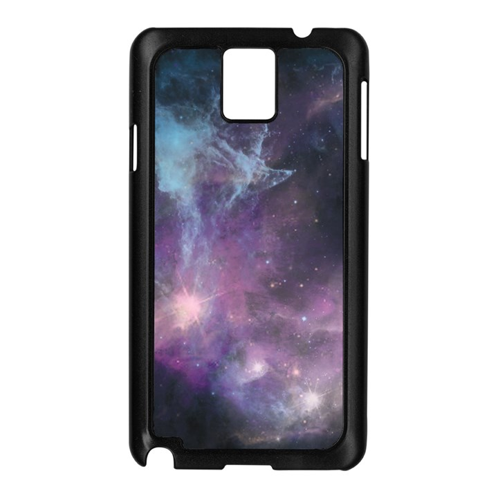 Blue Galaxy  Samsung Galaxy Note 3 N9005 Case (Black)