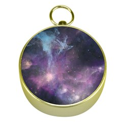 Blue Galaxy  Gold Compasses