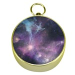 Blue Galaxy  Gold Compasses Front
