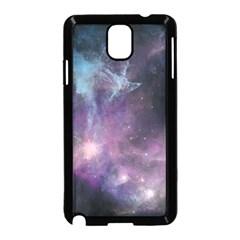 Blue Galaxy  Samsung Galaxy Note 3 Neo Hardshell Case (Black)
