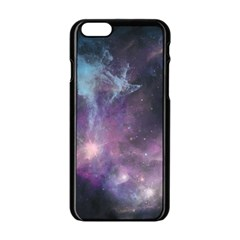 Blue Galaxy  Apple iPhone 6/6S Black Enamel Case