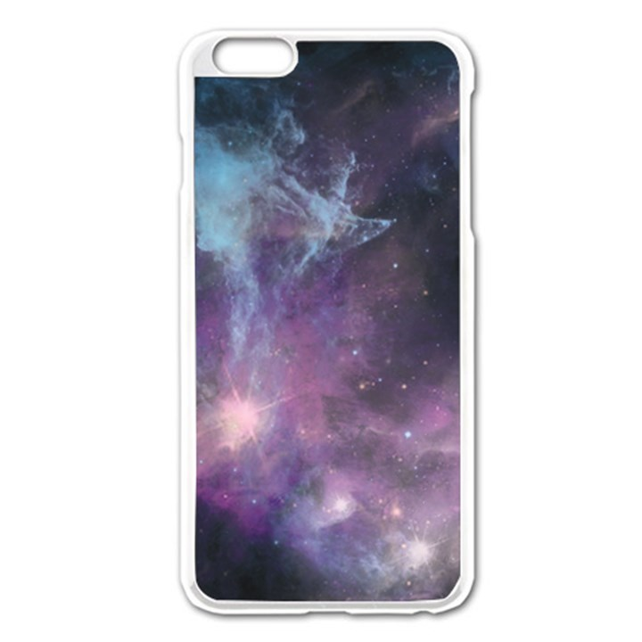 Blue Galaxy  Apple iPhone 6 Plus/6S Plus Enamel White Case