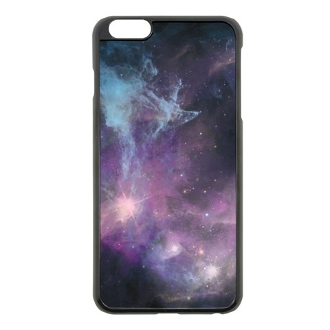Blue Galaxy  Apple iPhone 6 Plus/6S Plus Black Enamel Case