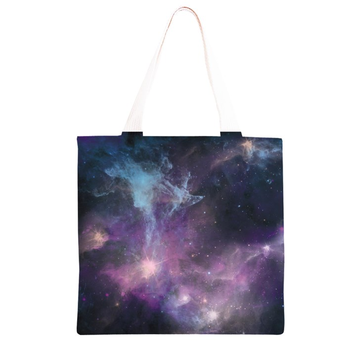 Blue Galaxy  Grocery Light Tote Bag