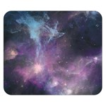 Blue Galaxy  Double Sided Flano Blanket (Small)  50 x40 Blanket Front