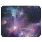 Blue Galaxy  Double Sided Flano Blanket (Medium)  60 x50 Blanket Front