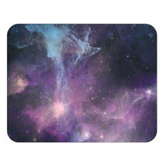 Blue Galaxy  Double Sided Flano Blanket (Large)