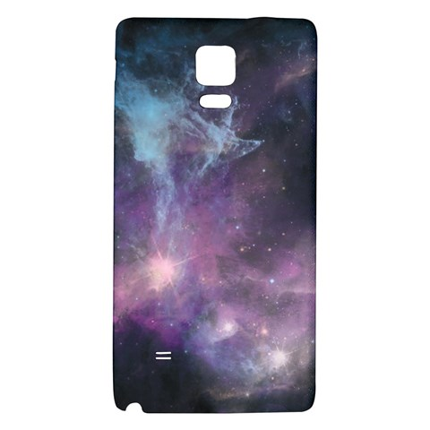 Blue Galaxy  Galaxy Note 4 Back Case