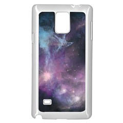 Blue Galaxy  Samsung Galaxy Note 4 Case (White)