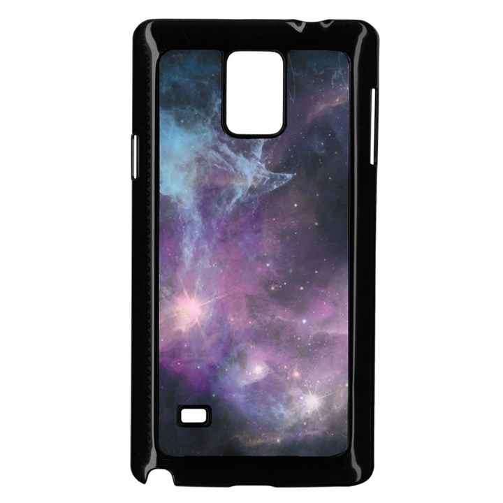 Blue Galaxy  Samsung Galaxy Note 4 Case (Black)