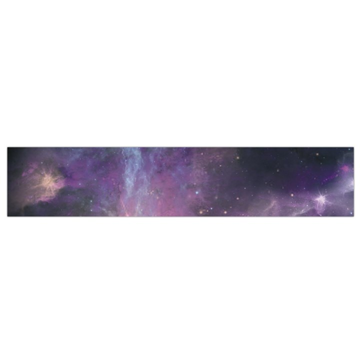 Blue Galaxy  Flano Scarf (Small)