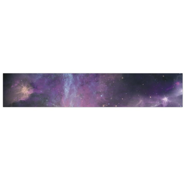 Blue Galaxy  Flano Scarf (Large)