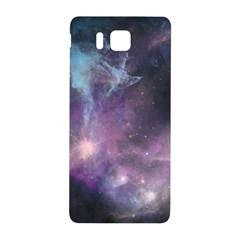 Blue Galaxy  Samsung Galaxy Alpha Hardshell Back Case