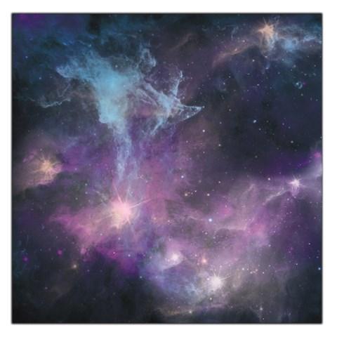 Blue Galaxy  Large Satin Scarf (Square)