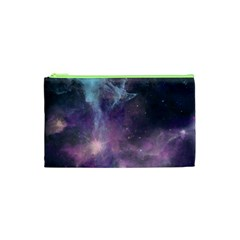 Blue Galaxy  Cosmetic Bag (xs)