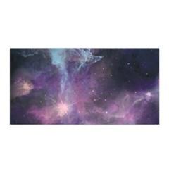 Blue Galaxy  Satin Wrap