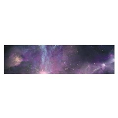 Blue Galaxy  Satin Scarf (Oblong)