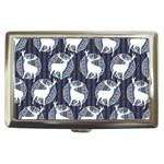 Geometric Deer Retro Pattern Cigarette Money Cases Front