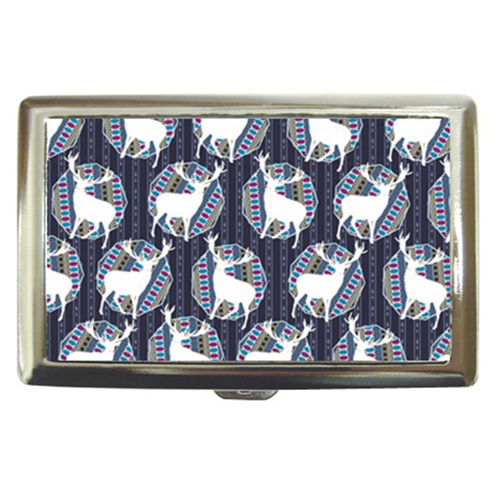 Geometric Deer Retro Pattern Cigarette Money Cases