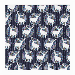 Geometric Deer Retro Pattern Medium Glasses Cloth (2 Side)