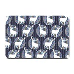 Geometric Deer Retro Pattern Small Doormat  24 x16 Door Mat - 1