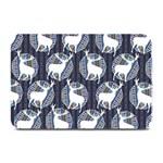 Geometric Deer Retro Pattern Plate Mats 18 x12 Plate Mat - 1