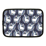 Geometric Deer Retro Pattern Netbook Case (Medium)  Front