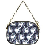 Geometric Deer Retro Pattern Chain Purses (Two Sides)  Front