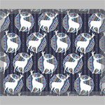 Geometric Deer Retro Pattern Canvas 20  x 16  20  x 16  x 0.875  Stretched Canvas