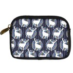 Geometric Deer Retro Pattern Digital Camera Cases Front