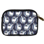 Geometric Deer Retro Pattern Digital Camera Cases Back