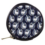 Geometric Deer Retro Pattern Mini Makeup Bags Back