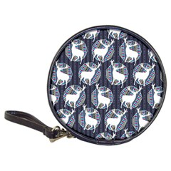 Geometric Deer Retro Pattern Classic 20-CD Wallets