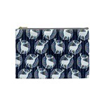 Geometric Deer Retro Pattern Cosmetic Bag (Medium)  Front