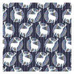 Geometric Deer Retro Pattern Small Memo Pads 3.75 x3.75  Memopad