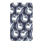 Geometric Deer Retro Pattern Memory Card Reader Front