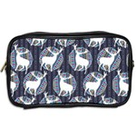 Geometric Deer Retro Pattern Toiletries Bags 2-Side Back