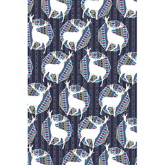 Geometric Deer Retro Pattern 5.5  x 8.5  Notebooks