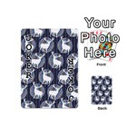 Geometric Deer Retro Pattern Playing Cards 54 (Mini)  Front - Joker1