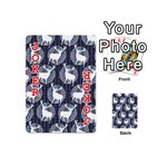 Geometric Deer Retro Pattern Playing Cards 54 (Mini)  Front - Joker2