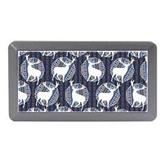 Geometric Deer Retro Pattern Memory Card Reader (mini)