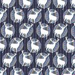 Geometric Deer Retro Pattern MOM 3D Greeting Card (8x4) Inside